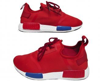 Мъжки спортни обувки червени