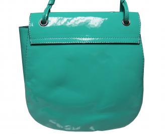Дамска чанта зелена