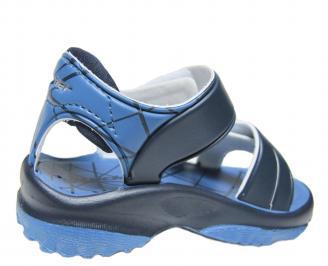 Бебешки  равни сандали  Rider сини 3