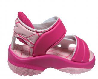 Бебешки равни  сандали Rider розови 3