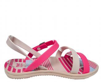 Дамски равни сандали  Zaxy шарени 3