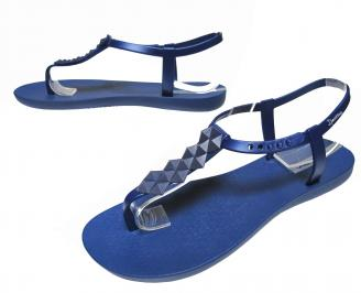Дамски равни силиконови сандали Ipanema тъмно сини