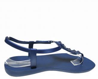 Дамски равни силиконови сандали Ipanema тъмно сини 3