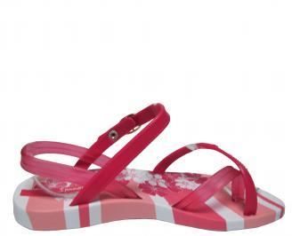 Детски равни силиконови сандали Ipanema розови 3