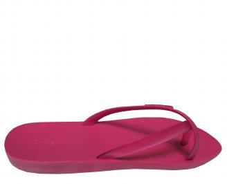 Дамски равни силиконови чехли Ipanema розови 3