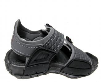 Детски равни сандали Rider черни