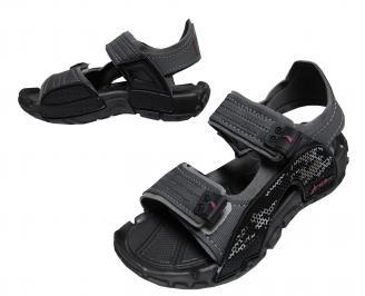 Юношески равни сандали Rider черни