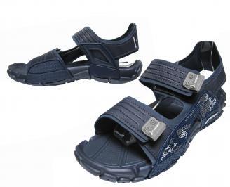 Мъжки силиконови сандали Rider тъмно сини
