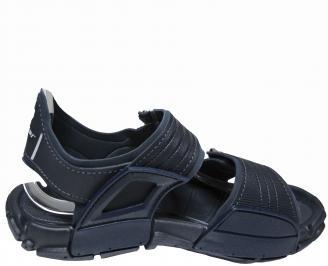 Мъжки силиконови сандали Rider тъмно сини 3