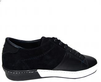 Мъжки обувки естествена кожа тъмно сини 3