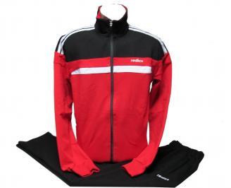 Мъжки спортен екип памук червен