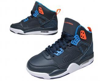 Юношески обувки Bulldozer еко кожа тъмно сини