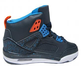 Юношески обувки Bulldozer еко кожа тъмно сини 3