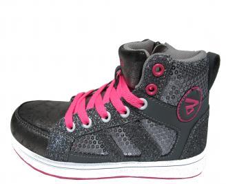 Детски обувки Bulldozer еко кожа сиви