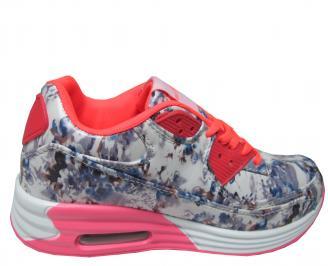 Дамски спортни обувки Bulldozer еко кожа шарени 3