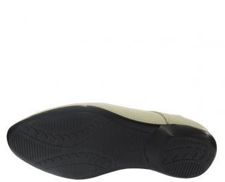 Мъжки обувки официални естествена кожа бежови 3