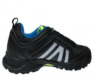 Мъжки маратонки Bulldozer еко кожа черни 3