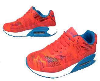 Дамски спортни обувки Bulldozer текстил корал