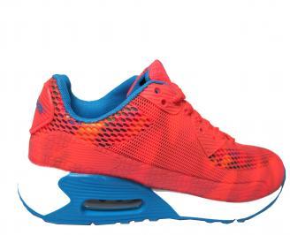 Дамски спортни обувки Bulldozer текстил корал 3