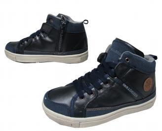 Детски обувки Bulldozer еко кожа тъмно сини