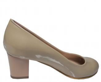 Дамски ежедневни  обувки еко кожа бежови 3