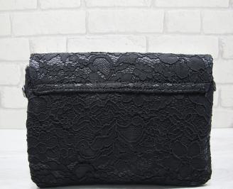 Абитуриентска чанта еко кожа/дантела