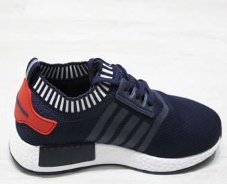 Юношески спортни обувки Bulldozer  текстил сини 3
