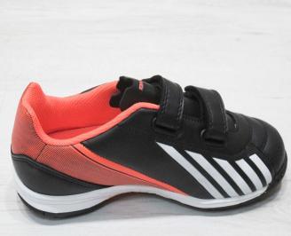 Детски футболни обувки Bulldozer  еко кожа черни 3