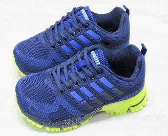 Юношески  маратонки BULLDOZER текстил сини