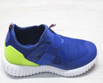 Детски обувки Bulldozer сини текстил