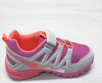 Детски обувки Bulldozer розови еко кожа