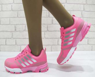 Дамски  маратонки   Bulldozer еко кожа розови