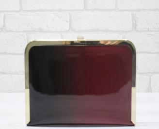Абитуриентска чанта еко кожа/лак червено/черно