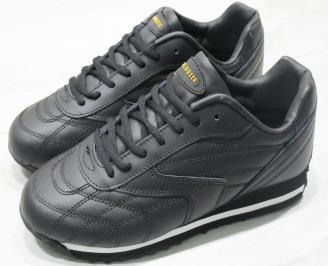 Мъжки спортни обувки Bulldozer  еко кожа черни
