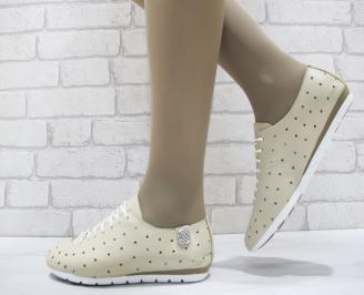 Дамски  обувки Гигант  бежови естествена кожа