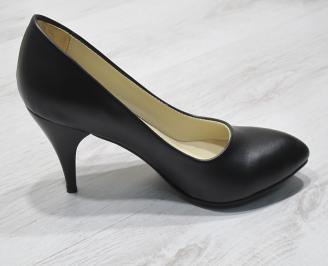 Дамски  обувки Гигант  черни еко кожа 3