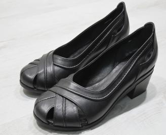 Дамски  обувки Гигант  черни естествена кожа