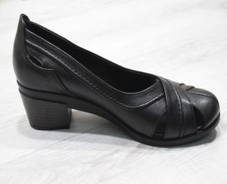 Дамски  обувки Гигант  черни естествена кожа 3