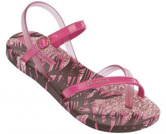 Дамски равни  сандали  розови