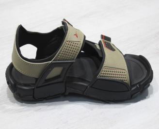 Равни сандали Rider бежови 3