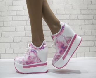 Дамски обувки  розови