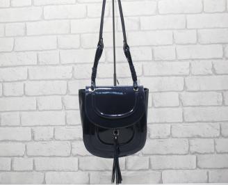 Дамска чанта тъмно синя