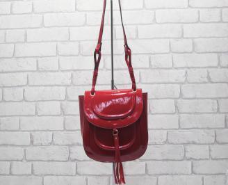 Дамска чанта червена