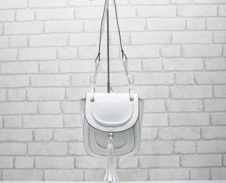 Дамска чанта бяла