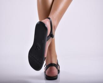 Дамски силиконови сандали  черни 3