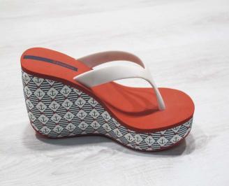 Дамски силиконови чехли Ipanema  червени 3