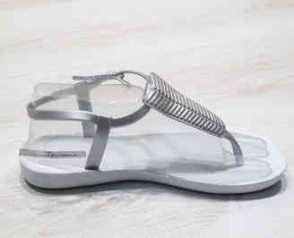 Дамски силиконови сандали Ipanema бели 3