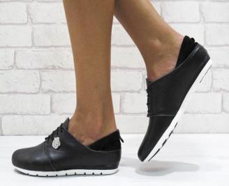 Дамски  обувки  черни естествена кожа