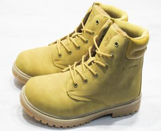 Юношески  обувки Bulldozer  еко кожа кафяви