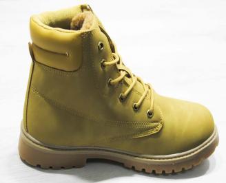 Юношески  обувки Bulldozer  еко кожа кафяви 3